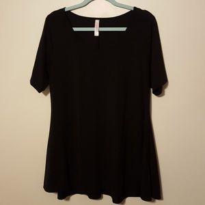 Lularoe perfect t black xl